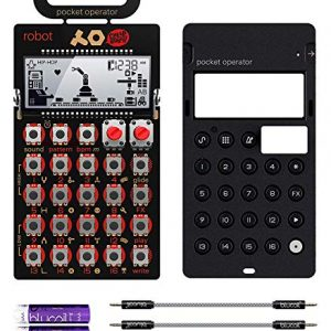 Teenage Engineering Pocket Operator Robot Lead Synthesizer/Sequencer Bundle