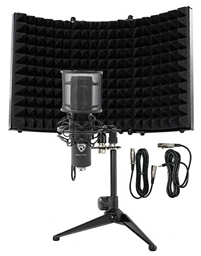 Rockville RCM PRO Studio/Recording Podcast Condenser Microphone