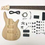 DIY Electric Bass Guitar Kit – 5 String Ash Bass