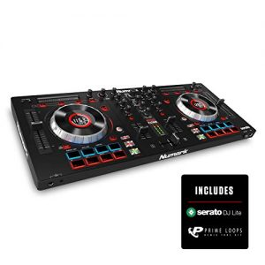 Numark Mixtrack Platinum | DJ Controller With LCD Displays