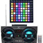 Novation LAUNCHPAD MIDI USB RGB Controller Pad+Free Boombox Speaker !