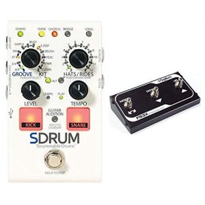 DigiTech SDRUM Auto drummer Guitar Pedal Stompbox sized Drum Machine