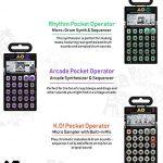 Teenage Engineering Ultimate PO Punch Bundle – 3-in-1 Set of Pocket Operator PO-12 Rhythm, PO-20 Arcade, and PO-33 K.O! 2