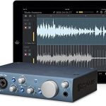 Presonus AudioBox iTwo Studio Audio Interface Full Studio Bundle w/Recording Software for Mac, Windows and iPad, Headphones, Microphone w/Cable and a Universal Tripod with iPad Mounting Solution 1