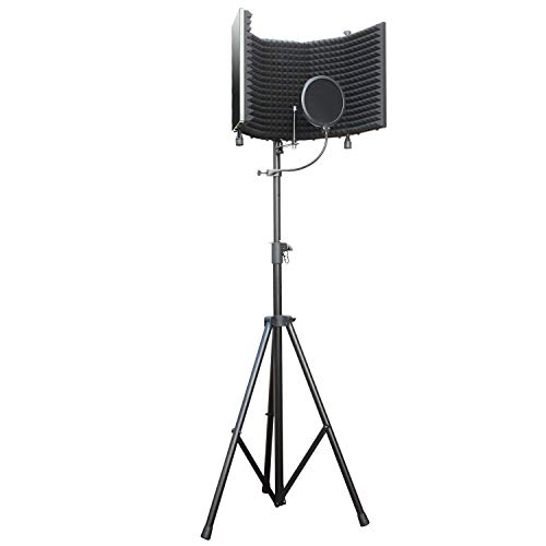 AxcessAbles Recording Studio Microphone Isolation Shield