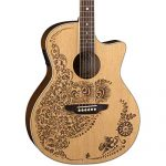 Luna Henna Oasis Select Spruce Acoustic/Electric Guitar