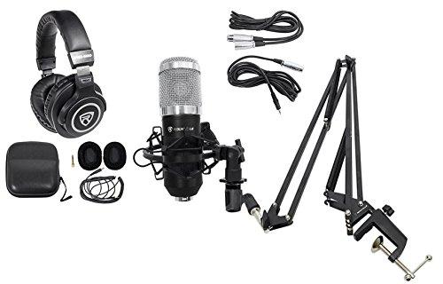 Rockville Studio Recording Microphone+40 Boom
