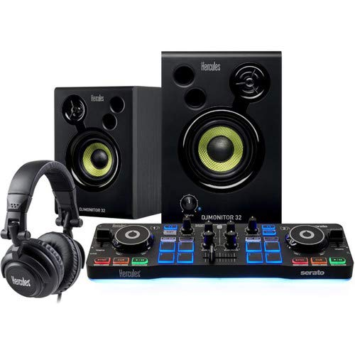 Hercules DJ Starter Kit | Starlight USB DJ Controller