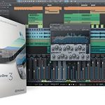 Presonus AudioBox 96 Audio Interface Full Studio Bundle with Studio One Artist Software Pack w/Mackie CR3 Pair Studio Monitors and 1/4″ TRS to TRS Instrument Cable 3