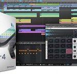 Presonus AudioBox 96 Audio Interface Full Studio Bundle with Studio One Artist Software Pack w/Eris 3.5 Pair Studio Monitors and 1/4″ TRS to TRS Instrument Cable 3