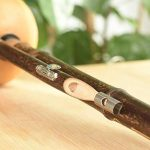 GAOD Hulusi Chinese Traditional Woodwind Flute Bamboo Anti-Fall for Adult Kids Including Chinese Knots Key of B Flat 3