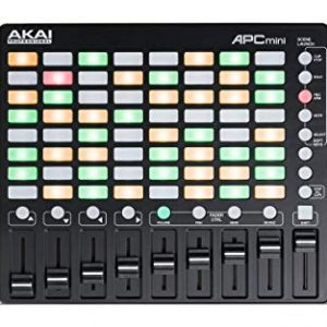 Akai Professional APC Mini | Compact USB Bus-Powered 64-Button Clip Launcher