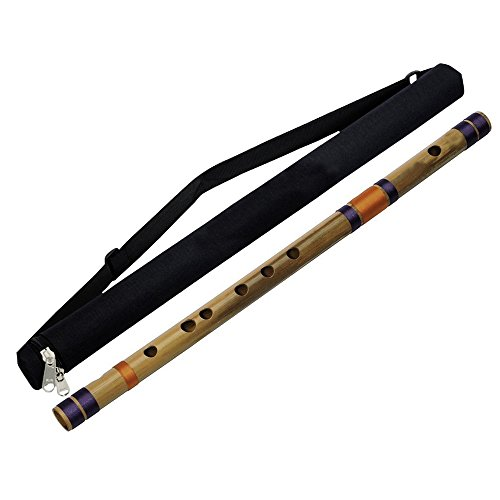 Indian Base Bamboo Flute (D Tune) Musical Instruments Woodwind
