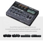 Tascam DP-006 6-Track Digital Pocketstudio and Deluxe Accessory Bundle w/Headphones + Case + Cables + 16GB + Xpix Tripod + More 1