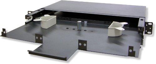 Lynn Electronics 1U Fiber Optic Rackmount Enclosure Panel