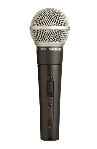 Shure Vocal Microphone (with On Off Switch)