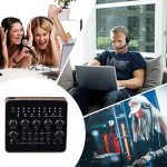 KOKITEA Voice Changer, Live Sound Card for PS4/Xbox/Phone/iPad/Computer ( Self-contained Remote Control ), Sound Card with Multiple Funny Sound Effect, for Recording YouTube LiveMe Facebook Anchor 1