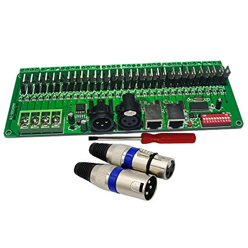 GIDERWEL Channel DMX Decoder 60A Dimmer Driver RGB Strip Controller