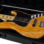 Gator Cases Molded Flight Case For Bass Guitar With TSA Approved Locking Latch (GTSA-GTRBASS) 3