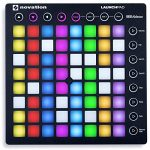 Novation LAUNCHPAD S MK2 MKII MIDI USB RGB Controller Pad+Mic+Cable+Headphones Bundle 1
