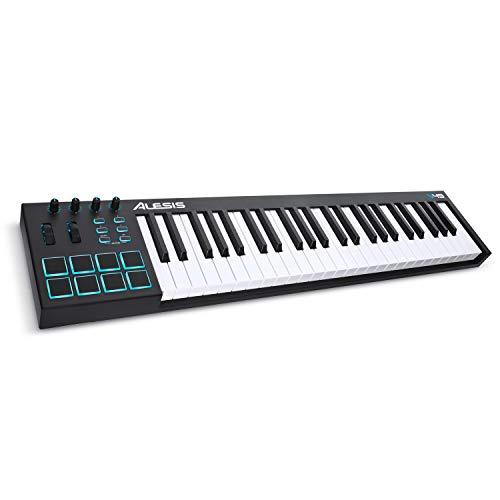 Alesis V49 | 49 Key USB MIDI Keyboard Controller with 8 Backlit Pads