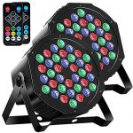 Par Lights DMX, RGB 36 LED DJ Stage light Sound Activated