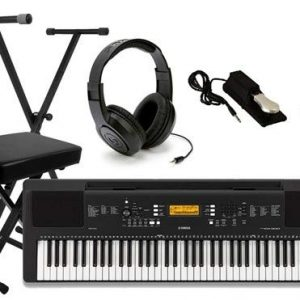 Yamaha Keyboard Package with Headphones