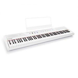 Alesis Recital White | All White 88-Key Digital Piano / Keyboard