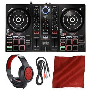 Hercules DJControl Inpulse 200 Compact DJ Controller + Headphone