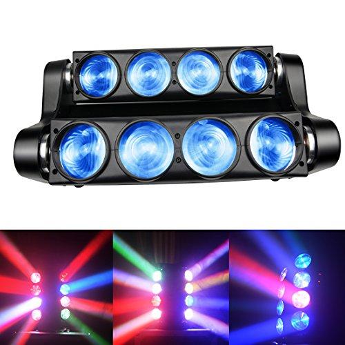 Spider Moving Head Strobe Light 100W,RGBW LED Stage Lighting