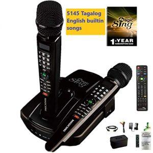 2019 WIFI Magic Sing Karaoke Two Wireless Mics 12,000 English