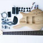 DIY Electric Bass Guitar Kit – 5 String Ash Bass 1