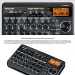 Tascam DP-008EX 8-Track Digital Pocketstudio and Deluxe Bundle with Home Recording for Musician's Guide + Handheld Mic + FibertTique cloth and More 1