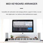 WYANAN Piano 61 Key Electric Keyboard Piano Portable Intelligent Piano Electronic Keyboard Easy to Carry Ultra-Thin Multifunctional Electronic Piano 2