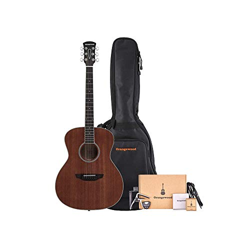 Orangewood 6 String Acoustic Guitar, Right, Mahogany