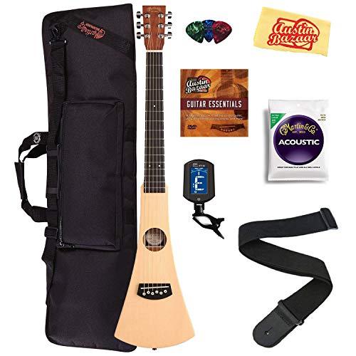 Martin Steel String Backpacker Travel Guitar Bundle