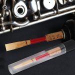 10pcs Bamboo Oboe Reeds,Medium Strength Soft Handmade Oboe Reeds Woodwind Instrument Replacement Accessory 3