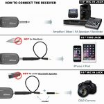 Wireless Headset Lavalier Microphone System -Alvoxcon Dual Wireless Lapel Mic for iPhone, DSLR Camera, PA Speaker, YouTube, Podcast, Video Recording, Conference, Vlogging, Church, Interview, Teaching 3