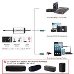 Hotec 25 Channel UHF Wireless Microphone Dual Microphone with Mini Portable Receiver 1/4″ Output, for Church/Home/Karaoke/Business Meeting (Dual mic) 1