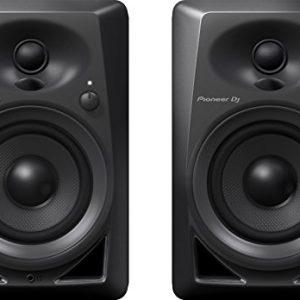 Pioneer Pro DJ Studio Monitor, RCA, Mini-Jack, Black