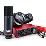 Focusrite Scarlett Solo Studio (3rd Gen) USB Audio Interface and Recording Bundle with Pro Tools   First