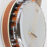 6 String Banjo Guitar with Closed Back Resonator and 24 Brackets 3