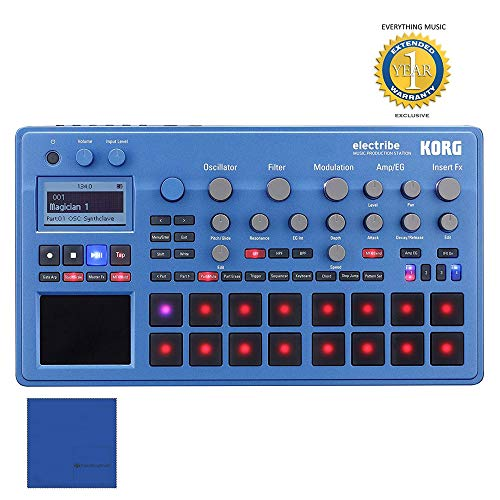 Korg Electribe Music Production Station Blue with V2.0 Software