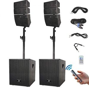 PRORECK Club 3000 12-Inch 3000 Watt DJ/Powered PA Speaker System