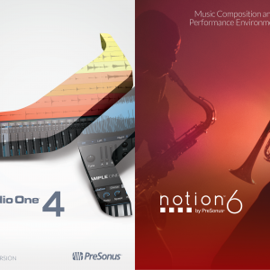PreSonus Professional Bundle - Studio One 4 Professional and Notion