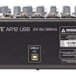 Presonus StudioLive AR12 14-Ch USB Live Sound/Recording Mixer+2) Studio Monitors 3
