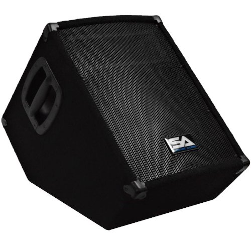 """Seismic Audio -Powered 2-Way 10"""" Floor / Stage Monitor Wedge Style"""