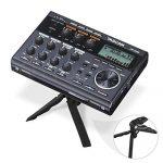 Tascam DP-006 6-Track Digital Pocketstudio and Deluxe Accessory Bundle w/Headphones + Case + Cables + 16GB + Xpix Tripod + More 2