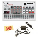 Korg Volca Digital Sample Sequencer Bundle with Power Supply and Austin Bazaar Polishing Cloth