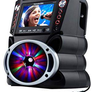 Karaoke USA Complete Karaoke System with 2 Microphones